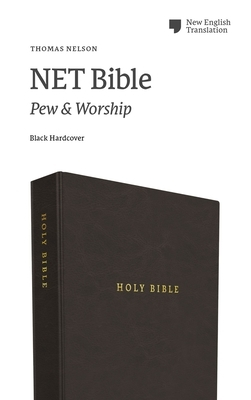 Net Bible, Pew and Worship, Hardcover, Black, Comfort Print: Holy Bible