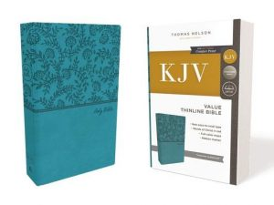 Kjv, Value Thinline Bible, Leathersoft, Green, Red Letter Edition, Comfort Print