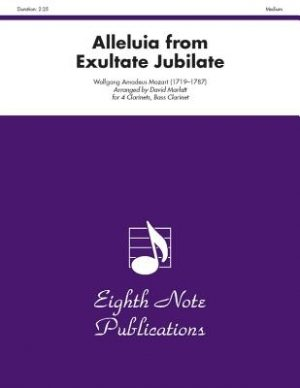 Alleluia from Exultate Jubilate K. 165