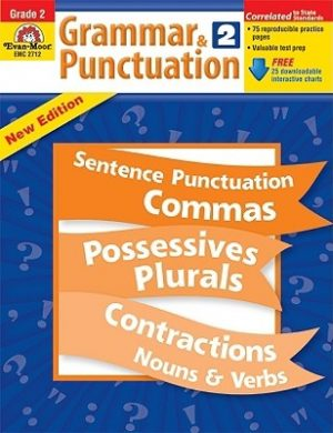 Grammar & Punctuation, Grade 2 [With Free Download]
