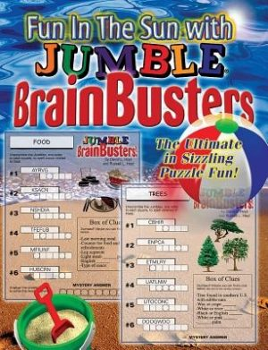 Fun in the Sun with Jumble(r) Brainbusters: The Ultimate in Sizzling Puzzle Fun