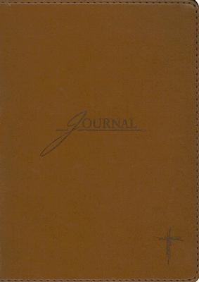 Brown W/Cross Journal