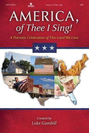 America, of Thee I Sing! Orchestra Audio Wav Files DVD-ROM