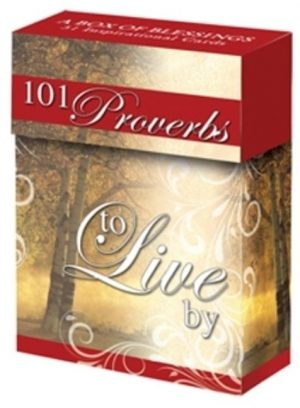 101 Proverbs to Live by Cards