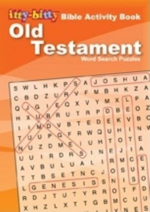 Old Testament Word Search Puzzles 6pk E5026: Ittybitty Bible Activity Book (6pk)