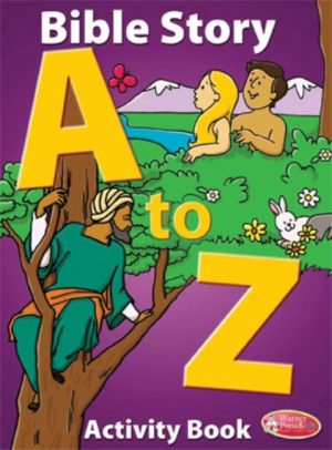 Bible Story A to Z Coloring & Activity Book